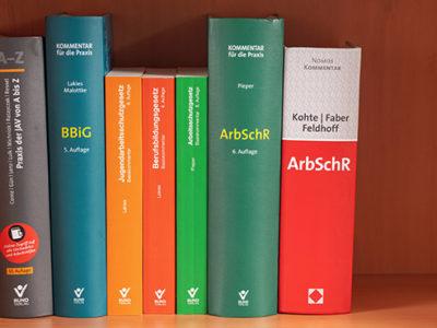 Literatursammlung Jugendauszubildendenvertretung Arbeitsschutzgesetz